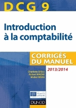 INTRODUCTION A LA COMPTABILITE  DCG9  2013